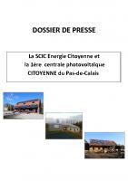 Dossier de presse_centrale photovoltaïque