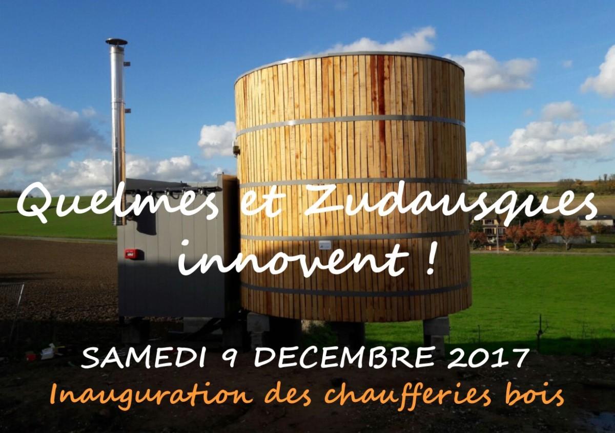 Inauguration des chaufferies bois de Quelmes et Zudausques !